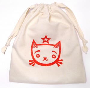 Bowling Kitty Set - Canvas Bag