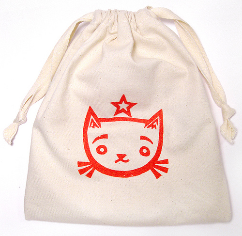 Draw-String Bag Tutorial | Kitty Baby Love