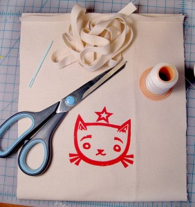 Canvas Bag Tutorial