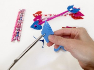 Cupids Arrows Pencil Toppers Tutorial 09