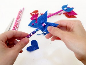 Cupids Arrows Pencil Toppers Tutorial 17