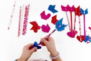 Cupids Arrows Pencil Toppers Tutorial 18