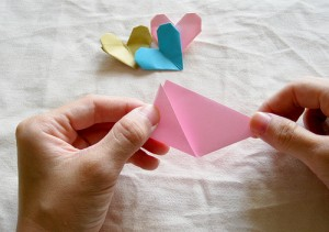 Origami Heart Tutorial 02