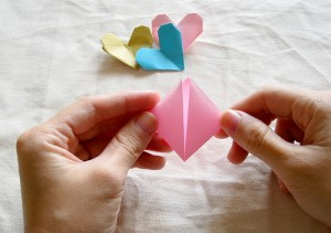 Origami Heart Tutorial 03