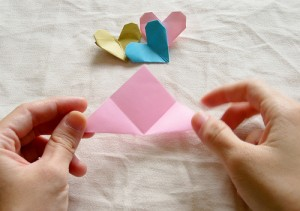 Origami Heart Tutorial 04