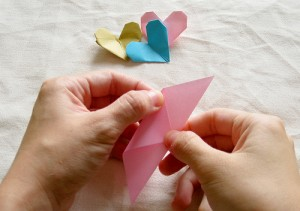 Origami Heart Tutorial 05