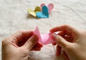 Origami Heart Tutorial 06