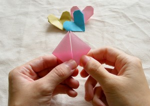 Origami Heart Tutorial 07