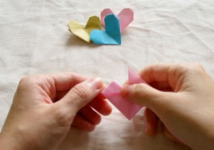 Origami Heart Tutorial 08