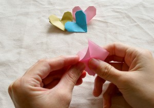 Origami Heart Tutorial 10