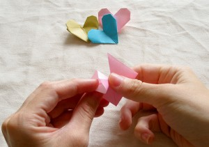 Origami Heart Tutorial 11
