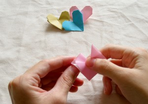 Origami Heart Tutorial 12