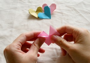 Origami Heart Tutorial 13