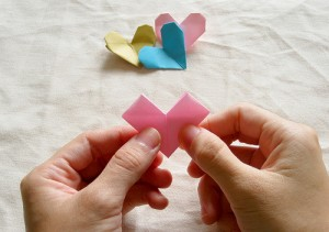 Origami Heart Tutorial 15