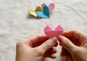 Origami Heart Tutorial 20