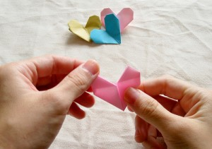 Origami Heart Tutorial 21