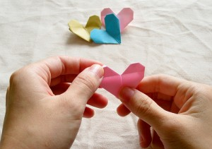Origami Heart Tutorial 22