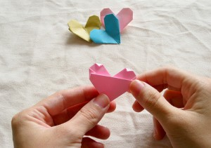 Origami Heart Tutorial 23