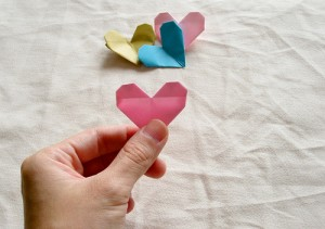 Origami Heart Tutorial 24