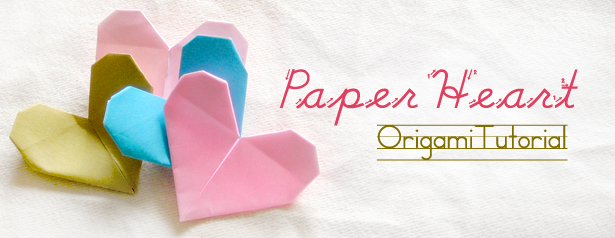 Step By Step Instructions How To Make Origami Heart With Wings ... | 238x615