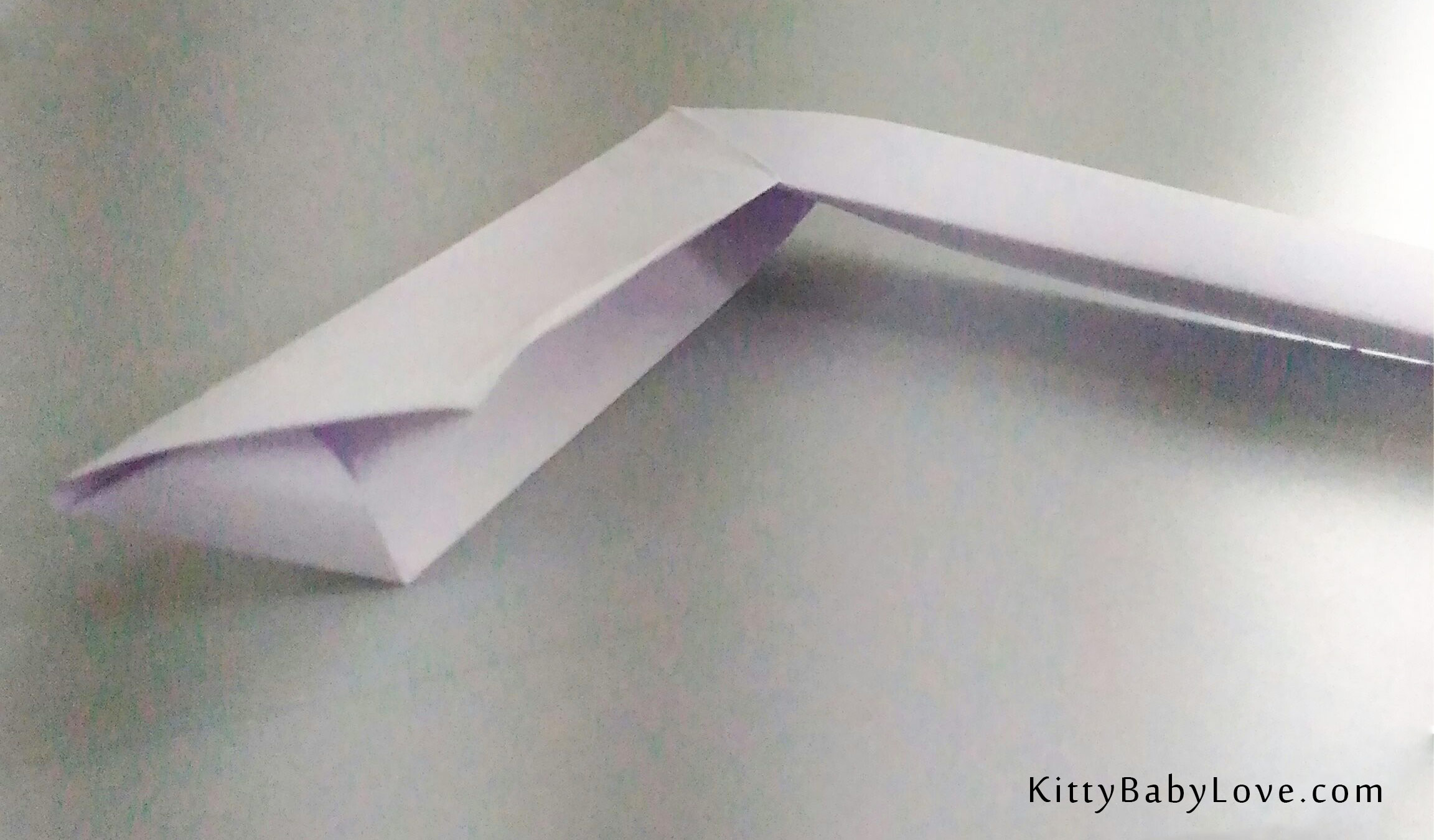 How to Make a Boomerang Paper Airplane (with Pictures) - wikiHow | 1350x2304