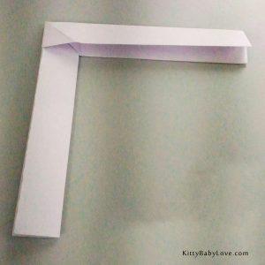 Origami Boomerang Step 9