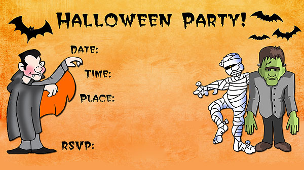 It's just a photo of Sweet Free Halloween Invites Printable