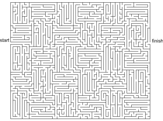 image regarding Printable Maze for Adults named 28 Cost-free Printable Mazes for Little ones and Older people