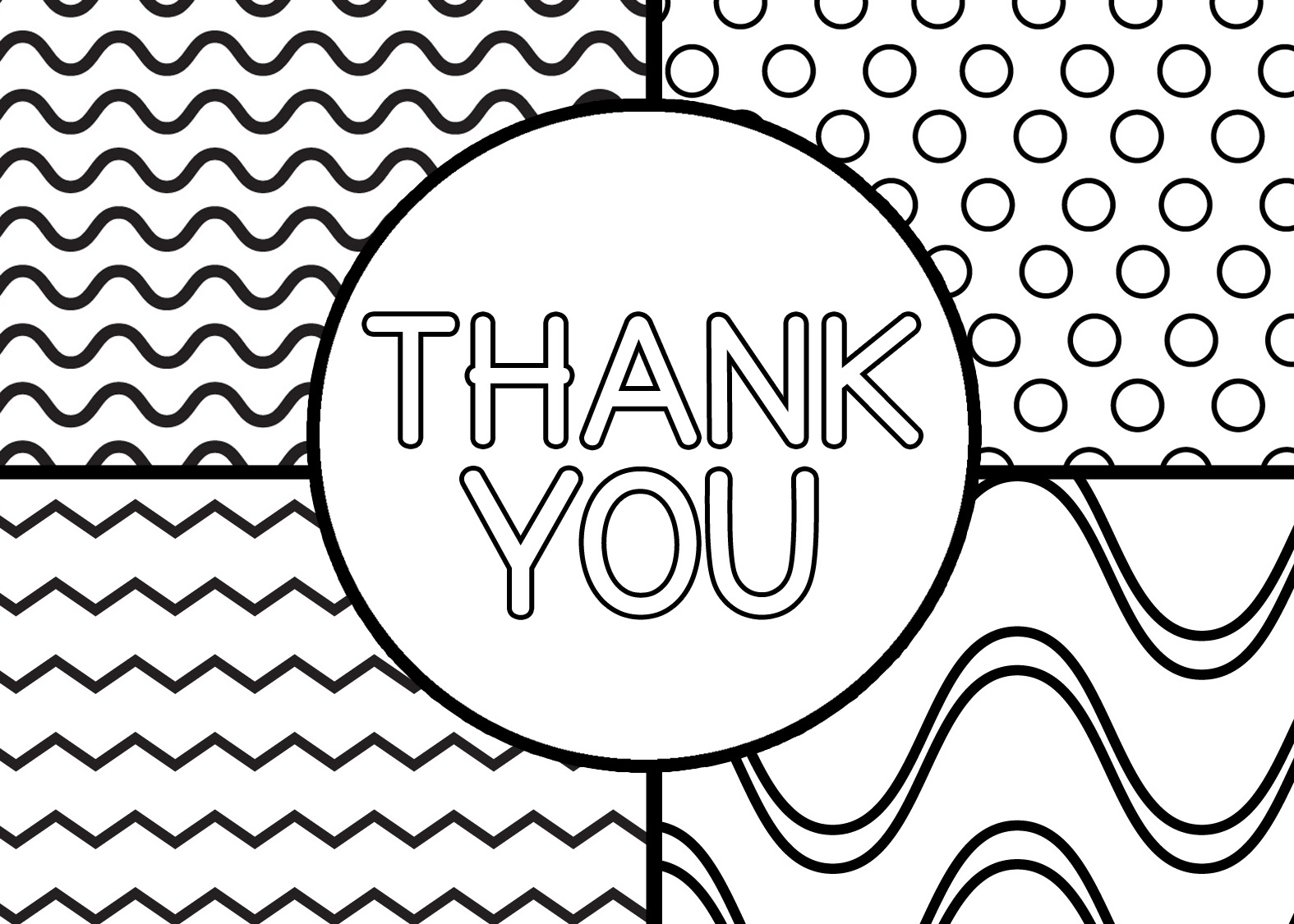 34 Printable Thank You Cards for All Purposes ...