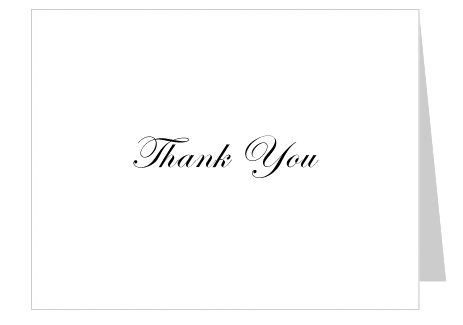 thank you cards free online