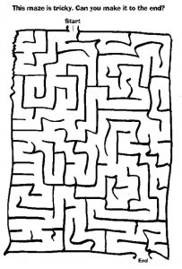 Fun Printable Maze Games for Toddlers