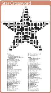 Printable Christmas Crossword Puzzles For Adults