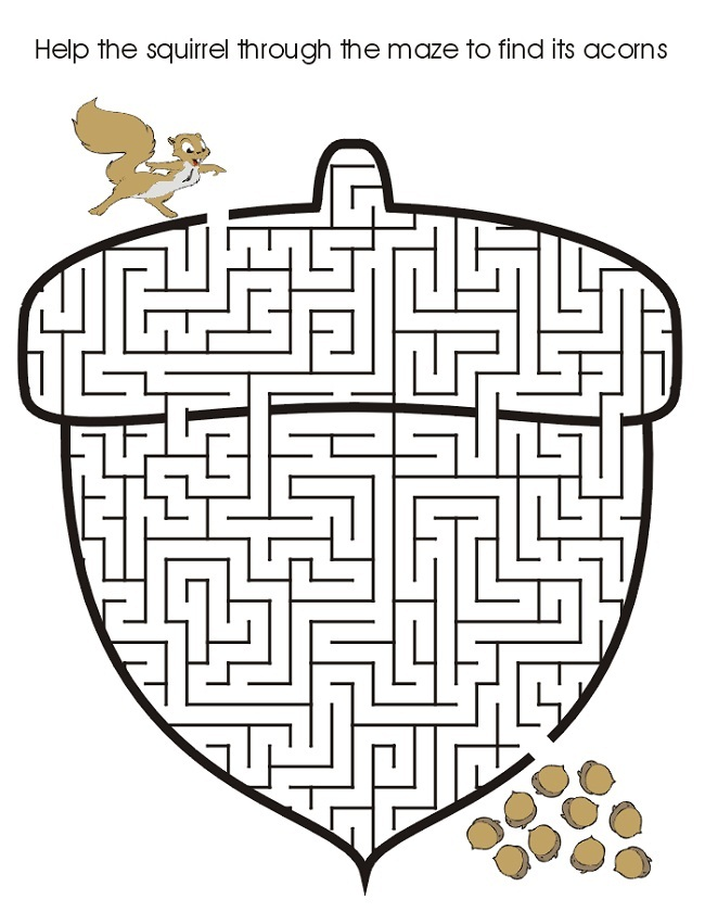 image about Printable Mazes for Kids referred to as 28 Absolutely free Printable Mazes for Youngsters and Grownups