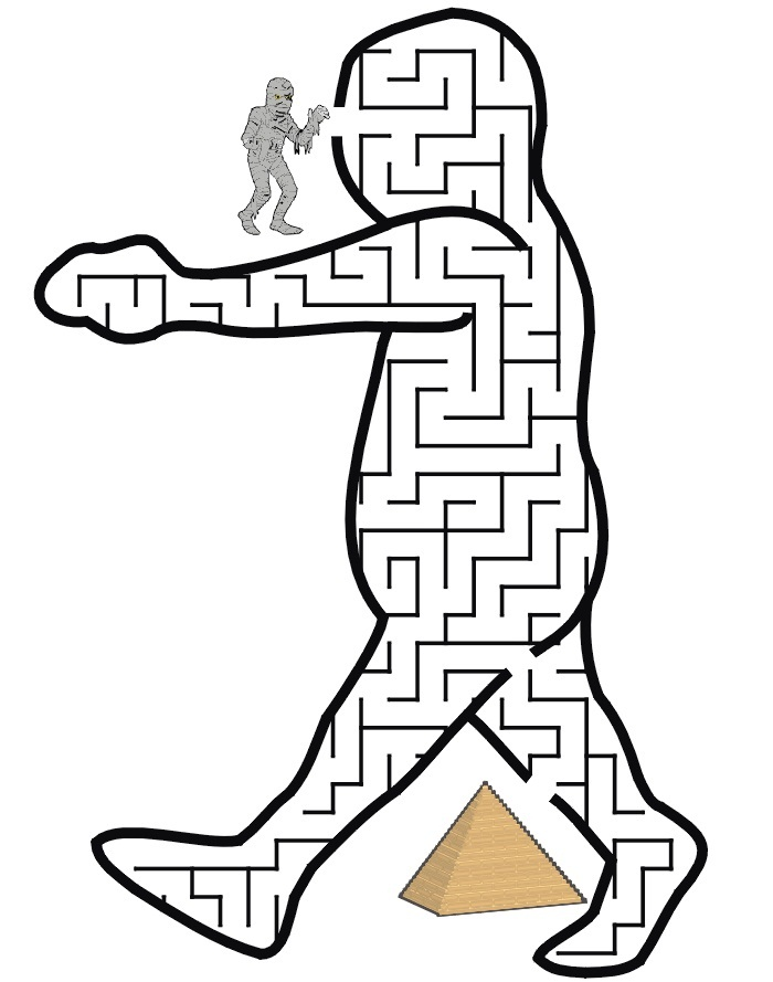 Versatile image with regard to printable mazes for kindergartners