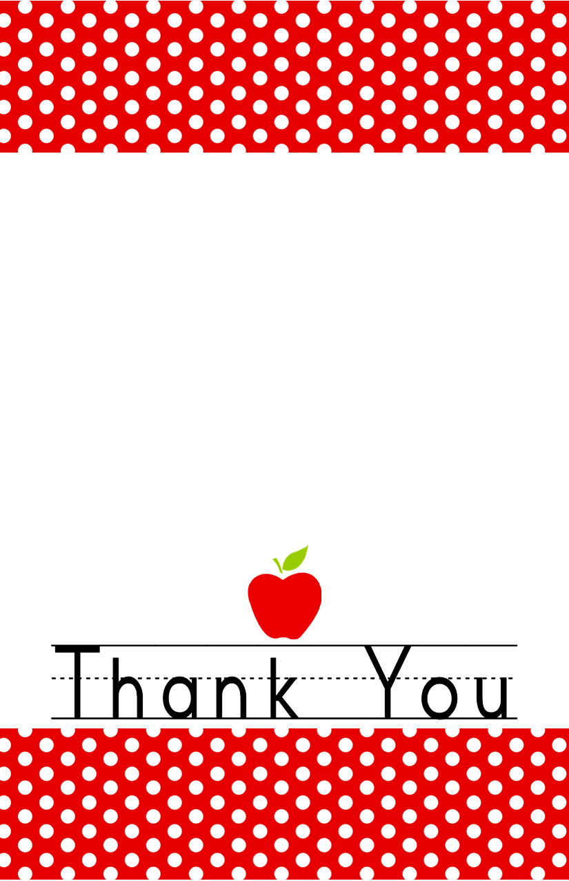 It is a photo of Adorable Free Thank You Card Printable