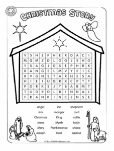 Big Christmas Word Search
