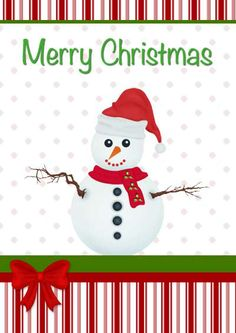 38 Unique Printable Christmas Cards | KittyBabyLove.com