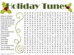 Christmas Word Search Games
