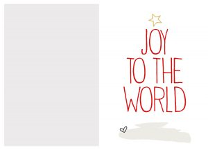 Custom Printable Christmas Cards Free Online