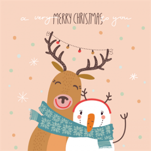 Free Christmas Card Printable