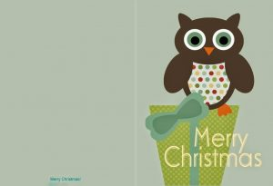 Free Christmas Cards Printable