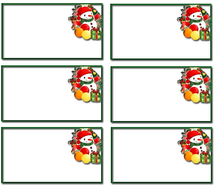 This is a graphic of Resource Christmas Name Tags Printable