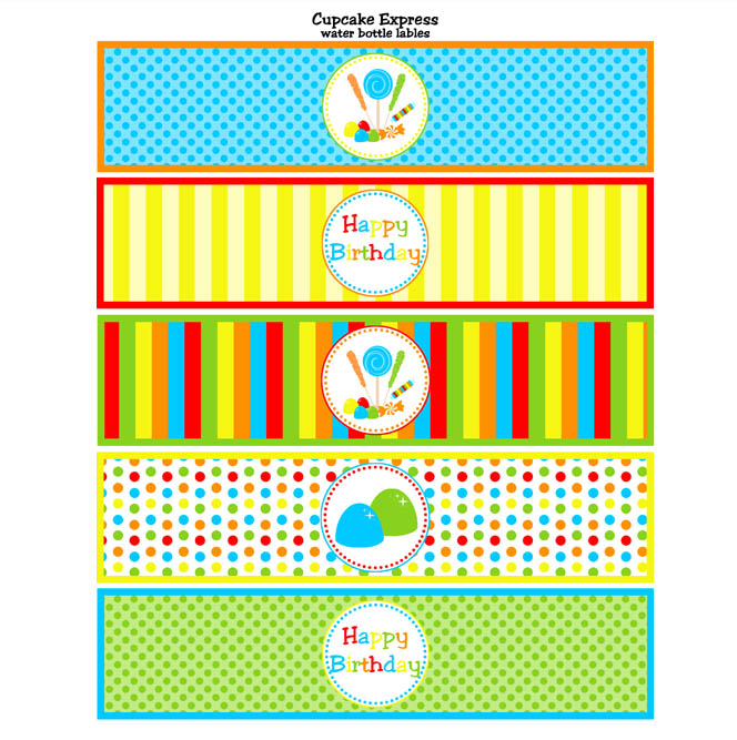 22 Custom Printable Water Bottle Labels | Kitty Baby Love