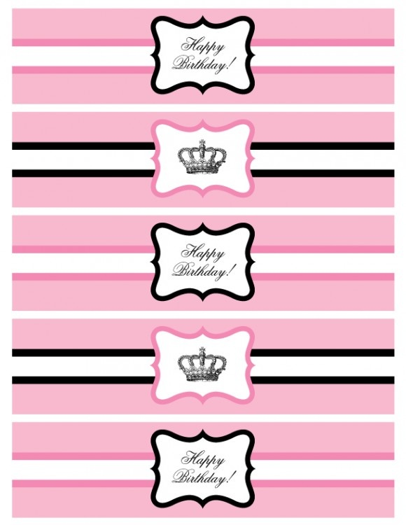 22 Custom Printable Water Bottle Labels Kittybabylove Com