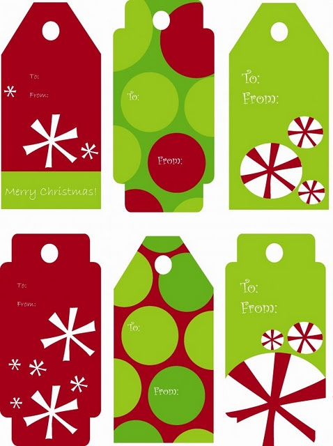 40 unique printable christmas gift tags kitty baby love free printables christmas gift tags for kids negle Gallery