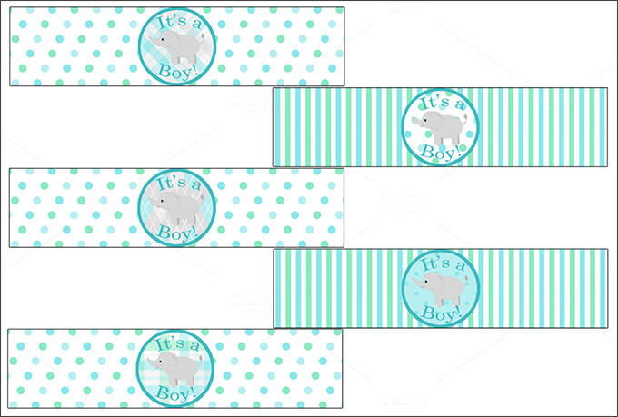 Free Water Bottle Labels Printable