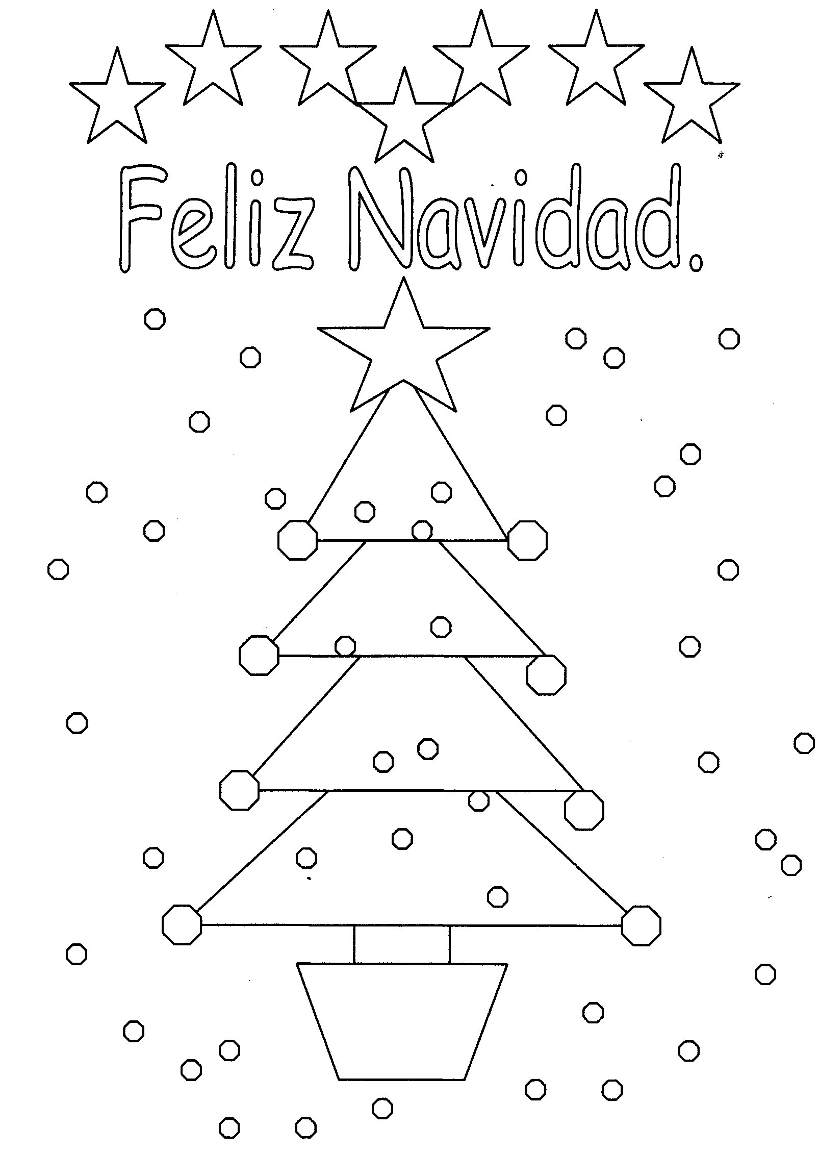 spanish coloring pages christmas | 38 Unique Printable Christmas Cards | Kitty Baby Love