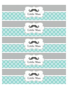 Water Bottle Printable Labels Free