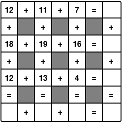 Free Math Crossword Puzzles