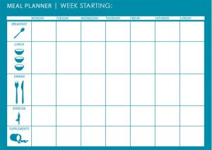 Healthy Monthly Meal Planner